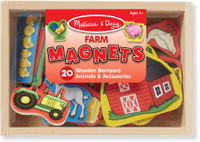 Купить Melissa & Doug Магнитные игры Ферма, Обучение и развитие