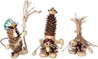 Купить Набор для создания поделок из шишек Вondibon Сказочные создания, Bondibon, Игрушки своими руками
