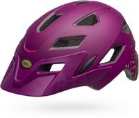 Купить Шлем защитный детский Bell 18 Sidetrack , цвет: фиолетовый, зеленый. Размер XS (47/54), Bell., Шлемы и защита