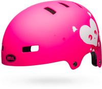 Купить Шлем защитный детский Bell 18 Block BMX , цвет: розовый. Размер S (51/55), Bell., Шлемы и защита