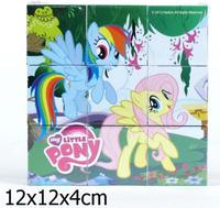 Купить Играем вместе Кубики My Little Pony 9 шт, Развивающие игрушки