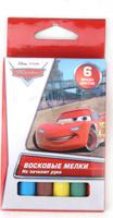 Купить Multi Art Мелки восковые Disney Cars 6 цветов, Мелки и пастель