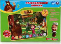 Купить Умка Развивающий коврик Маша и Медведь Домик в лесу, Развивающие коврики