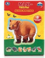 Купить Умка Пазл для малышей Лесные животные 4690590110072, Обучение и развитие