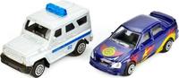 Купить ТехноПарк Парковка с 2 машинками УАЗ Лада P4788A-3R, Треки и парковки