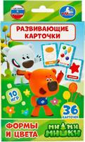 Купить Умка Обучающие карточки Мимишки Формы и цвета, Обучение и развитие