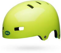 Купить Шлем защитный Bell 18 LOCAL BMX , для взрослых, цвет: салатовый. Размер M (55/59), Bell., Шлемы и защита