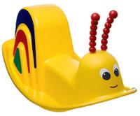 Купить PicnMix Детские качели Улитка цвет желтый, Игровые комплексы