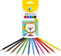 Купить Adel Набор цветных карандашей 12 шт, Карандаши