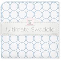 Купить SwaddleDesigns Пеленка фланелевая Ultimate Blue Mod on WH, Подгузники и пеленки