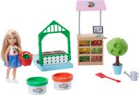 Купить Barbie Игровой набор с куклой Овощной сад Челси, Куклы и аксессуары