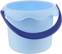 Купить ЯиГрушка Игрушка для песочницы Ведро маленькое цвет голубой, Игрушки для песочницы