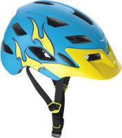 Купить Шлем защитный детский Bell 17 Sidetrack , цвет: голубой, желтый. Размер CH, Bell., Шлемы и защита