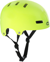 Купить Шлем защитный детский Bell 18 Block BMX , цвет: салатовый. Размер XS (49/53), Bell., Шлемы и защита