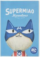 Купить Еж-стайл Тетрадь Supermiao 2 Superman A5 96 листов в линейку цвет синий, Тетради