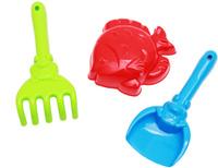 Купить Рыжий Кот Набор игрушек для песочницы №11 Лопатка грабли формочка в ассортименте, Игрушки для песочницы