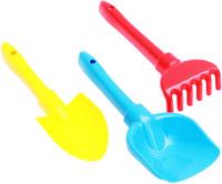 Купить Рыжий Кот Набор игрушек для песочницы №22 Лопатка совочек грабли в ассортименте, Игрушки для песочницы