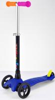 Купить Самокат трехколесный Buggy Boom Mini , цвет: синий, Самокаты