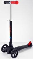 Купить Самокат трехколесный Buggy Boom Mini , цвет: черный, Самокаты