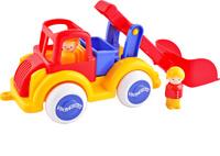 Купить Viking Toys Машинка Строительная с ковшом с двумя фигурками, Машинки