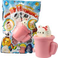 Купить 1TOY Игрушка-антистресс Мммняшка Squishy Мини-кошка в чашке, Развлекательные игрушки