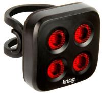 Купить Набор велофонарей Knog Blinder Mob The Face , цвет: черный, Велофары и фонари