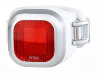Купить Велофонарь задний Knog Blinder Mini Chippy , цвет: серебристый, Велофары и фонари