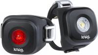 Купить Набор велофонарей Knog Blinder Mini Dot , цвет: черный, Велофары и фонари