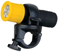 Купить Фара велосипедная Ultraflash Active , 9 LED, цвет: черный. LED652, Велофары и фонари
