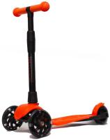 Купить Детский самокат Buggy Boom Alfa Model , трехколесный, цвет: оранжевый 89, Самокаты