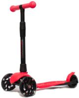 Купить Детский самокат Buggy Boom Alfa Model , трехколесный, цвет: кораллово-красный 82, Самокаты