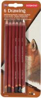Купить Derwent Набор цветных карандашей Drawing 6 цветов 0700476, Карандаши