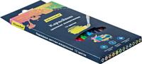 Купить Silwerhof Набор цветных акварельных карандашей 2B 12 шт 134213-12, Карандаши