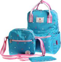 Купить Vittorio Richi Рюкзак детский с наполнением цвет голубой розовый K05R5521, Ранцы и рюкзаки