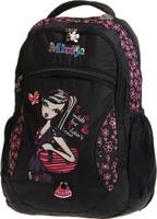 Купить Vittorio Richi Рюкзак детский с наполнением цвет черный розовый K05RN097, Ранцы и рюкзаки