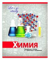 Купить Profit Тетрадь Серебро Химия 36 листов в клетку, Тетради
