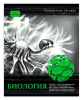 Купить Проф-Пресс Тетрадь Контрасты Биология 48 листов в клетку, Тетради