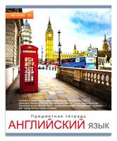 Купить Проф-Пресс Тетрадь Мир вокруг Английский язык 48 листов в клетку, Тетради