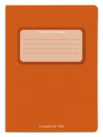 Купить Проф-Пресс Тетрадь 120 листов в клетку оранжевый, Тетради