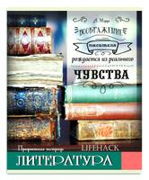 Купить Проф-Пресс Тетрадь Лайфхак Литература 48 листов в линейку, Тетради