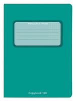 Купить Проф-Пресс Тетрадь 120 листов в клетку цвет зеленый, Тетради