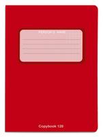 Купить Проф-Пресс Тетрадь 120 листов в клетку цвет красный, Тетради