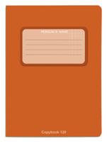 Купить Проф-Пресс Тетрадь 120 листов в клетку цвет оранжевый, Тетради