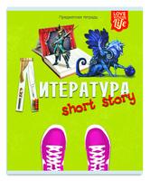 Купить Проф-Пресс Тетрадь Модный стиль Литература 48 листов в линейку, Тетради
