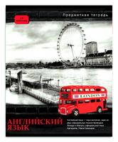 Купить Проф-Пресс Тетрадь Контрасты Английский язык 48 листов в клетку, Тетради