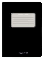 Купить Проф-Пресс Тетрадь 120 листов в клетку цвет черный, Тетради