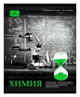 Купить Проф-Пресс Тетрадь Контрасты Химия 48 листов в клетку, Тетради
