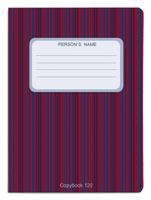 Купить Проф-Пресс Тетрадь 120 листов в клетку цвет красный синий, Тетради