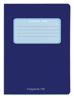 Купить Проф-Пресс Тетрадь 120 листов в клетку цвет синий, Тетради