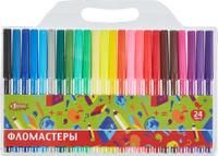 Купить №1 School Набор фломастеров Отличник 24 цвета, Фломастеры